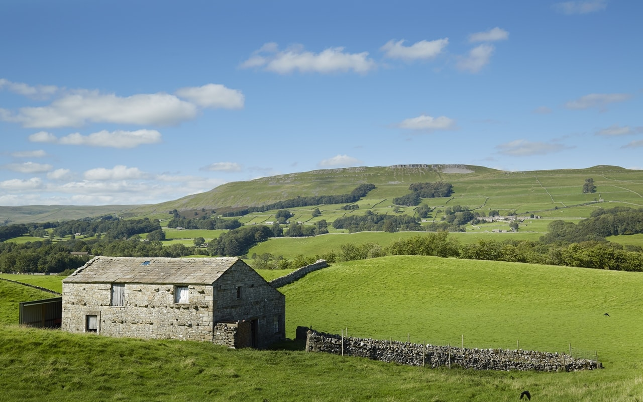 a barn in Wensleydale in the Yorkshire Dales