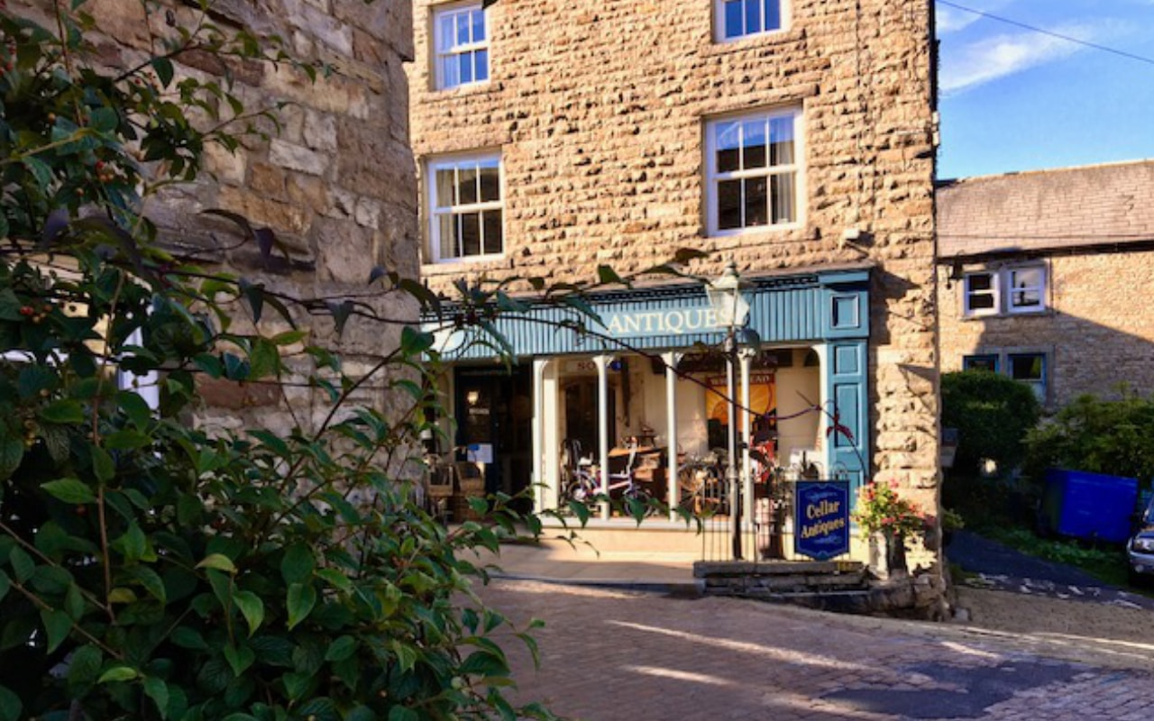 The Antique shop in Hawes