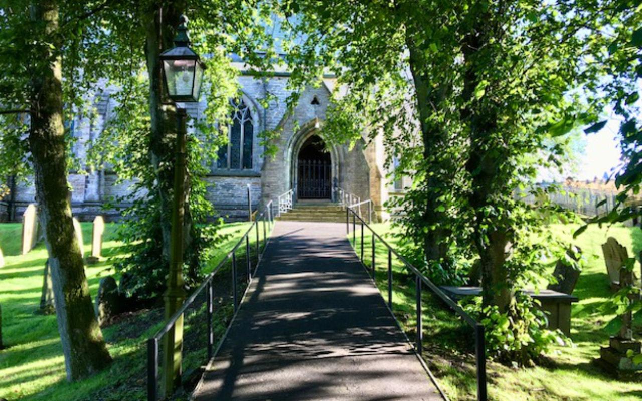 St Margarets church in Hawes