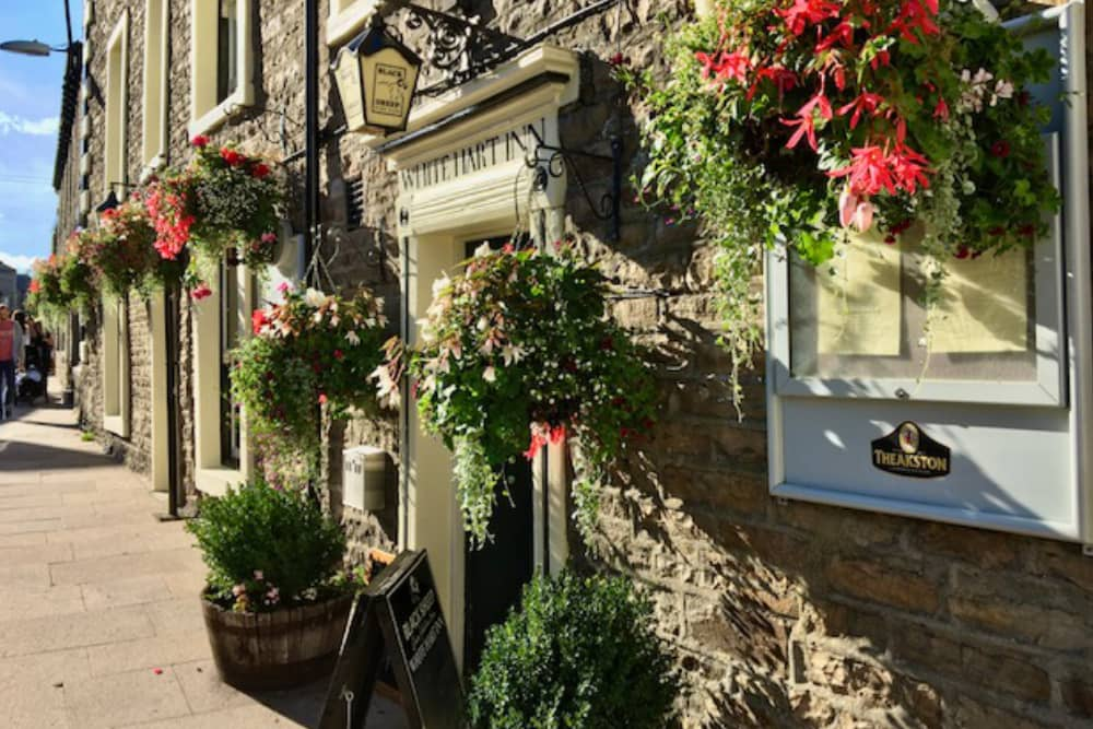 The White Hart Pub in Hawes